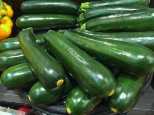 Zucchini ertragreich